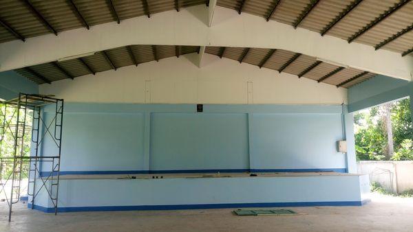 โรงเรียนซ่อมหอประชุม
