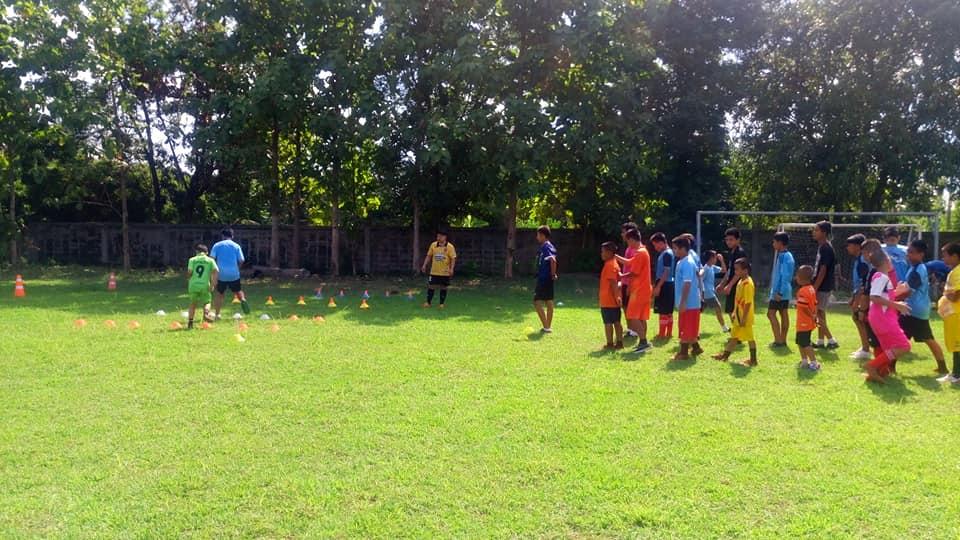 ฝึกซ้อมฟุตบอล
