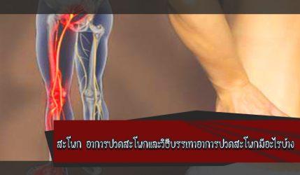 สะโพก อาการปวดสะโพกและวิธีบรรเทาอาการปวดสะโพกมีอะไรบ้าง
